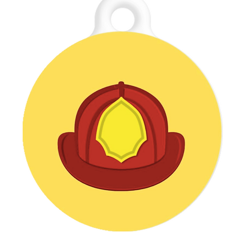Fire Fighter ID Tag