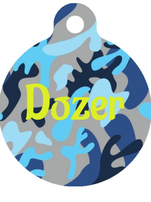 Dozer ID Tag Custom