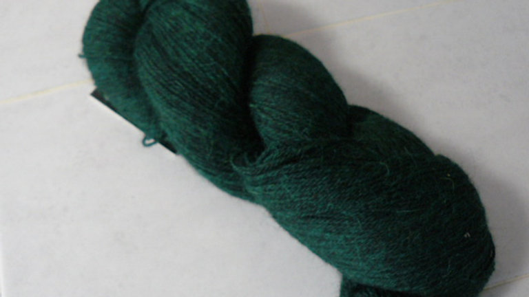 Heather Prime Alpaca (Dyed) Hunter Green