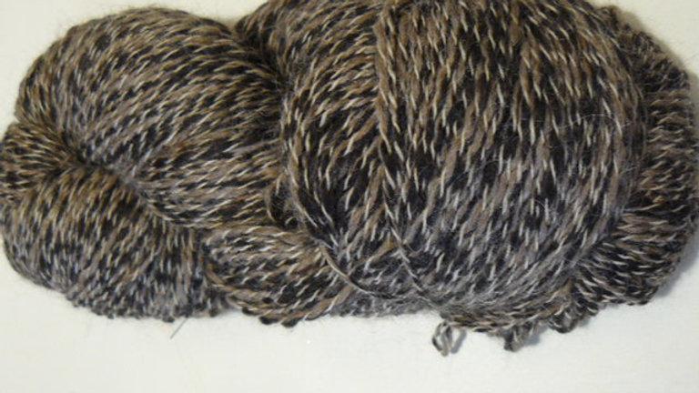 Peruvian Tweed -Musk/Charcoal