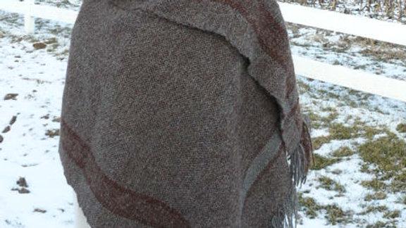 Handwoven Alpaca Shawl