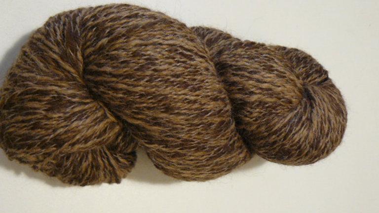 Peruvian Tweed -Tan/Brown