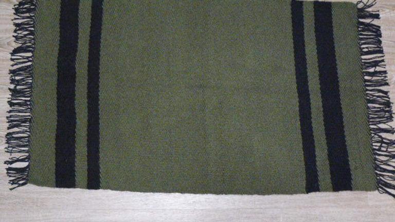 Handmade Woven Wool Rug