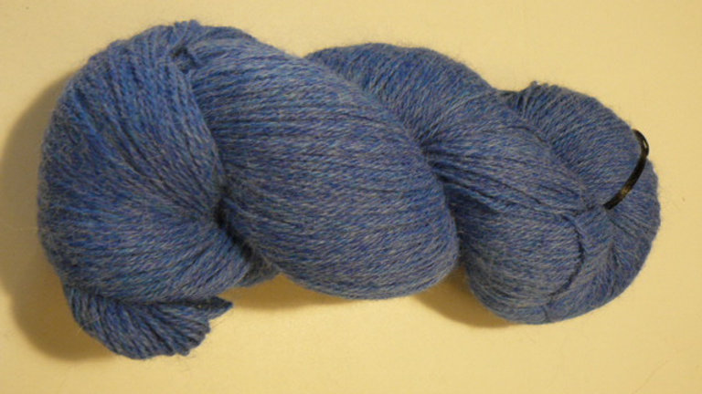 Heather Prime Alpaca (Dyed)Crater Lake Blue