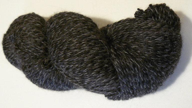 Peruvian Tweed - Charcoal/Black