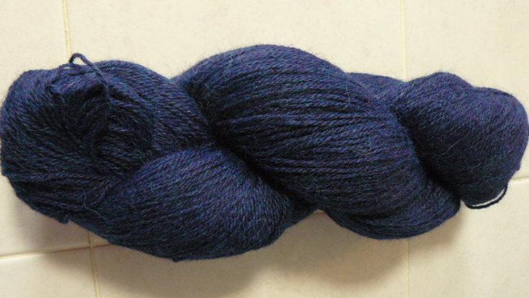 Heather Prime Alpaca (Dyed) Yarn-Navy Blue
