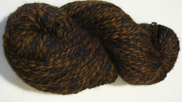 Peruvian Tweed - Chestnut/Black