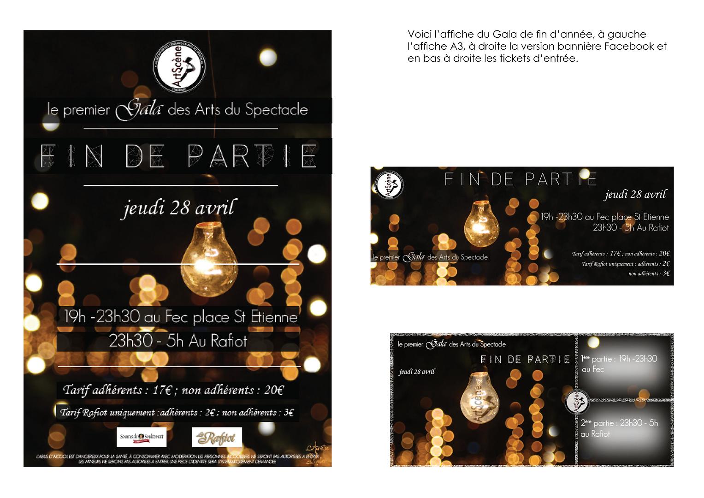 projet soirée gala association