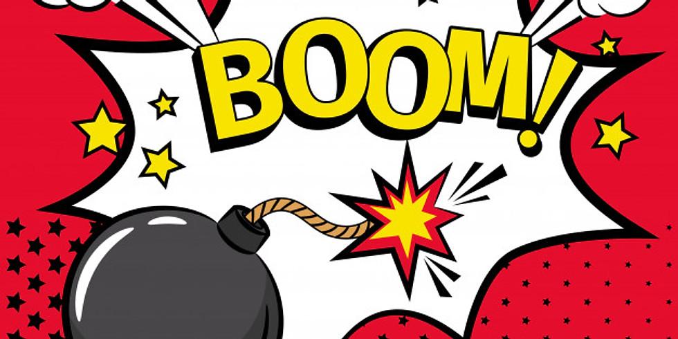 November Meeting: Bombs Away ONLINE!