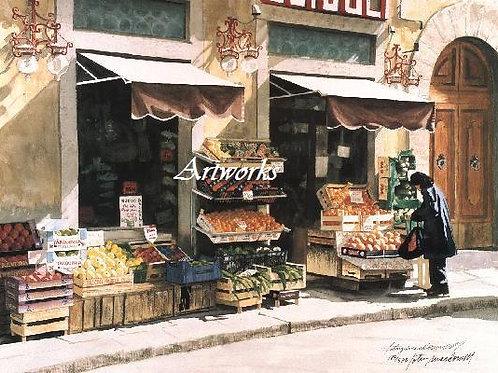 Fruit Market - Florence, Italy