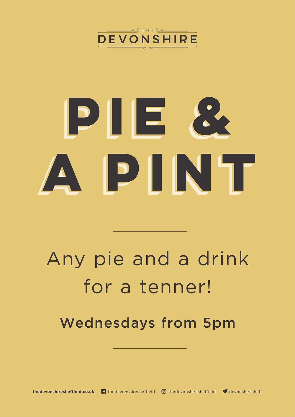 Devonshire Pie & a pint