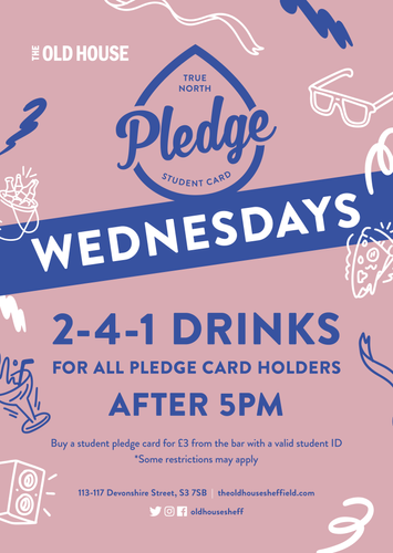 Pledge Wednesdays