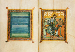 Frontispiece to St. Luke's Gospel
