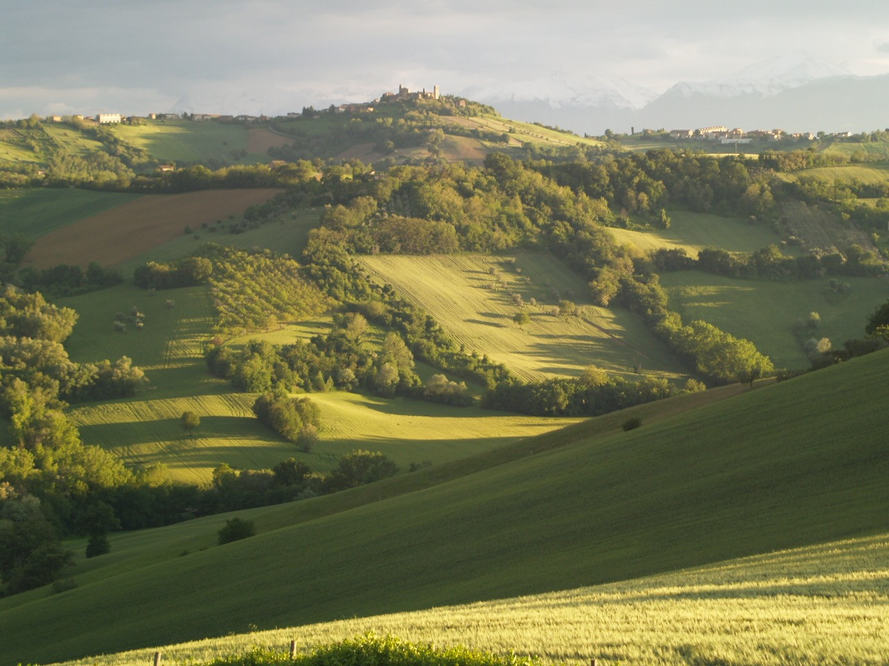 View from Casa San Ruffino and from all
