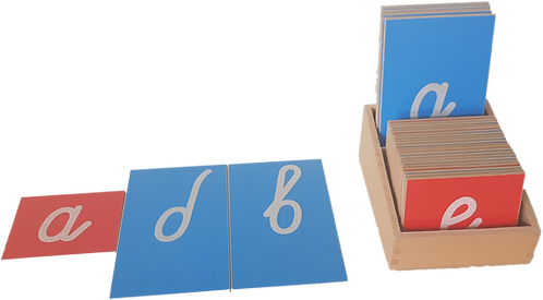 Опесъчена грапава ръкописна Българска азбука - (тест)