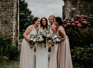 Lilly & Garth | A beautifully styled country wedding at The Ash Barton Estate