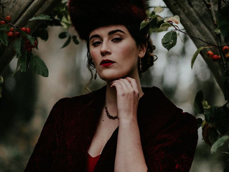 A Russian inspired shoot at Pengersick Castle