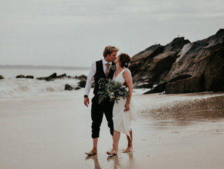 Congratulations to Ashton and Chris! | Porthgwidden Beach cafe