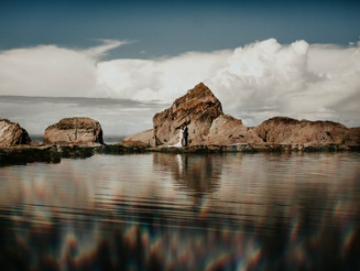 A beautiful wedding at Tunnels Beaches