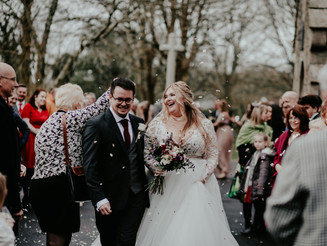 Jenna and Matts Christmas Wedding | St Ives Harbour Hotel