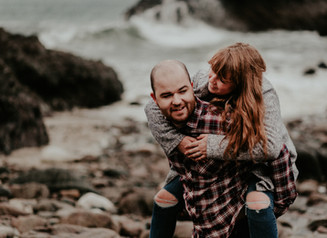 Hannah & Dan | Kynance Cove