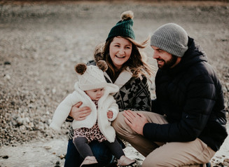 A beautiful family shoot on Godrevy beach