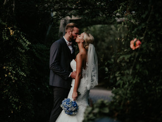 A beautiful wedding at The Eden Project