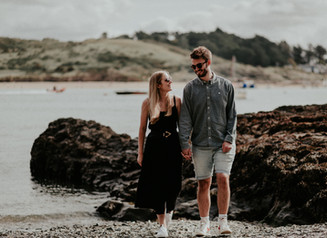 Eve & Matthew's Padstow engagement shoot!