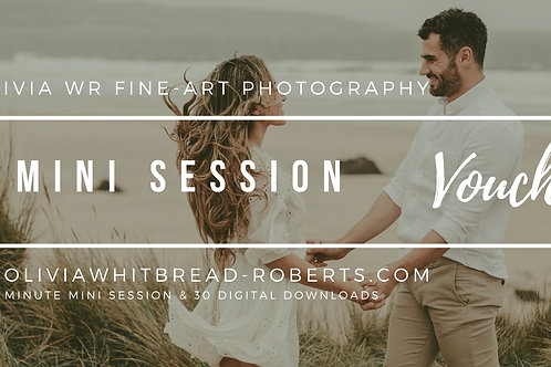 Mini Session Voucher!