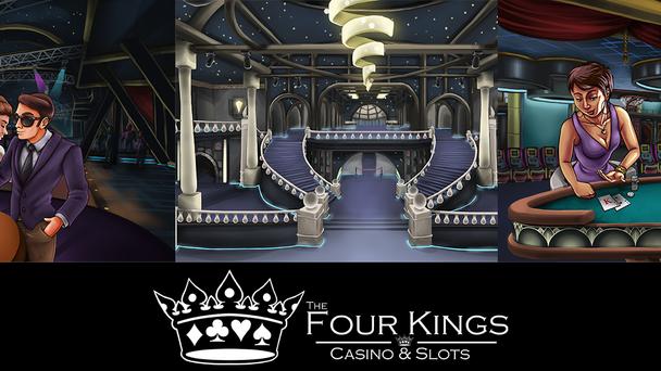 Casino MMORPG Artistic Pre-Production