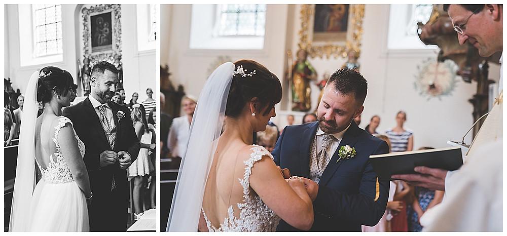 kirchliche Hochzeit Heidenheim Ringwechsel