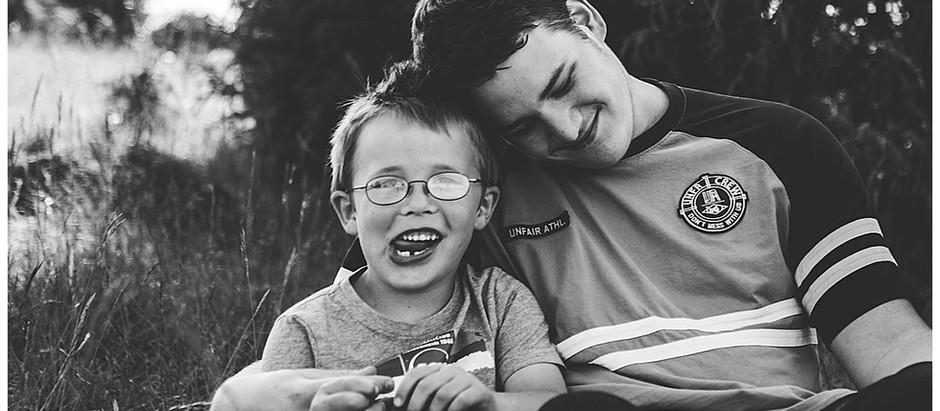 Familien Fotoshooting im Eselsburger Tal