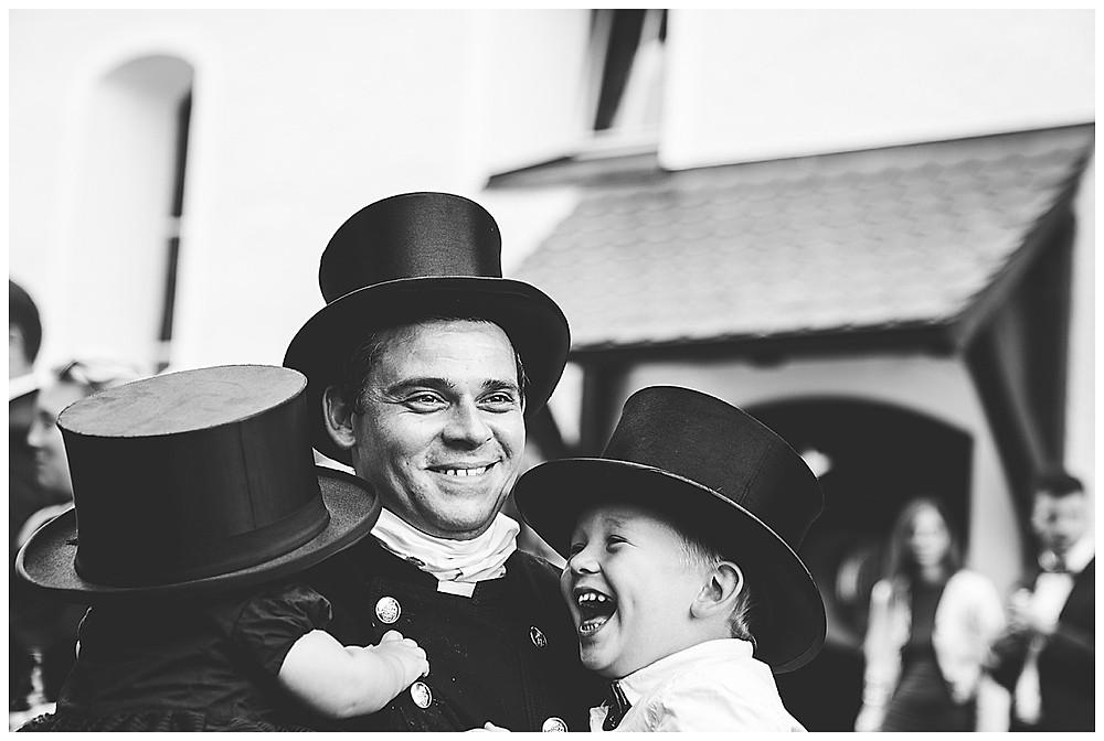 Schornsteinfeger Scharenstetten Hochzeit