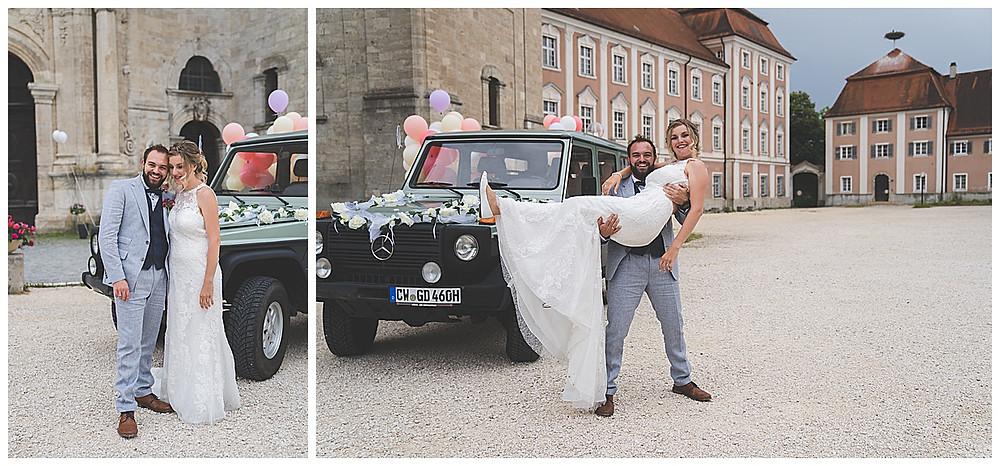 Brautpaar im Kloster Wiblingen