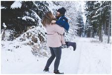 Familienfotograf Augsburg - Winterliches Schneeshooting