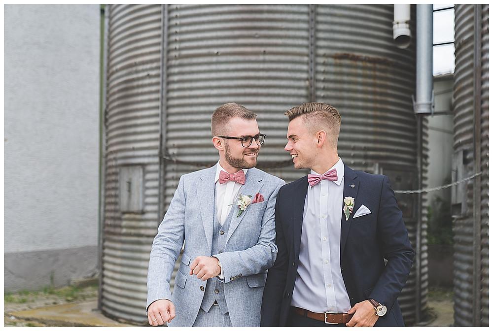 Bräutigamen Bruder Foto