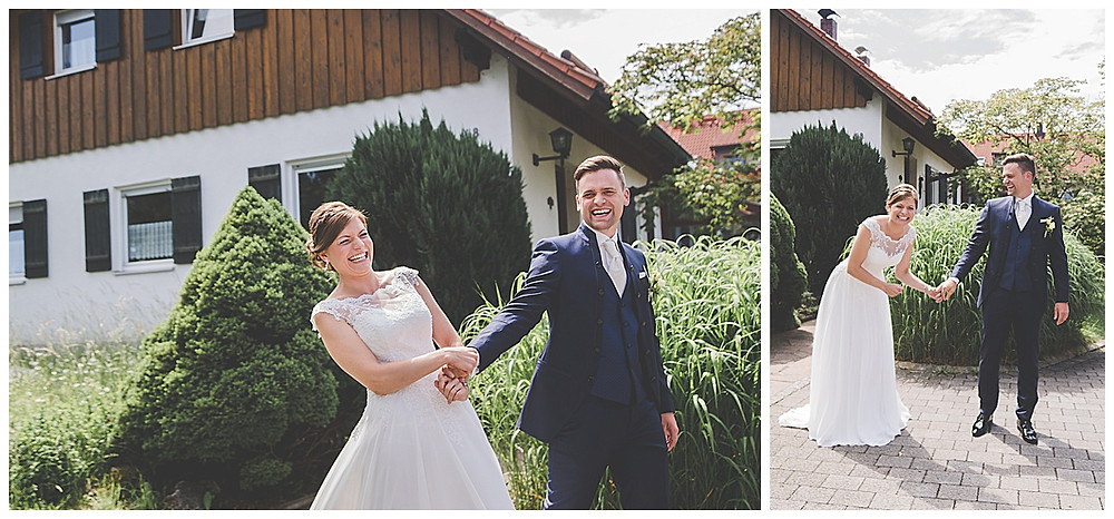 Hochzeitsfotograf Allgäu Brautpaarshooting