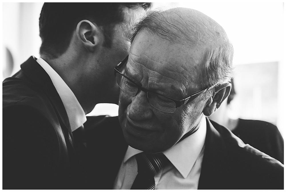Bräutigam und Vater Standesamt Neu-Ulm