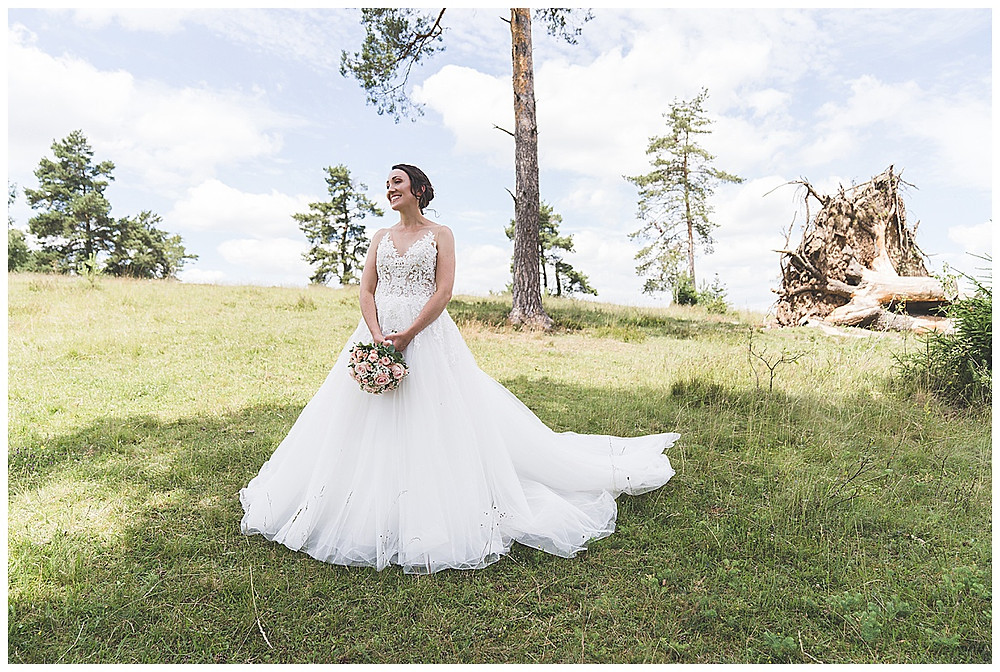 Braut Portriat