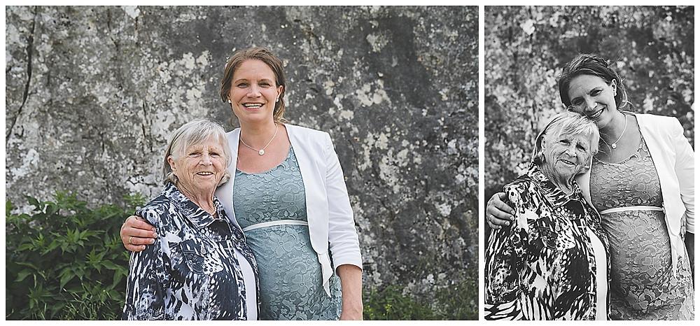 Brautpaarshooting im Eselsburger Tal Brautoma und schwangere Braut