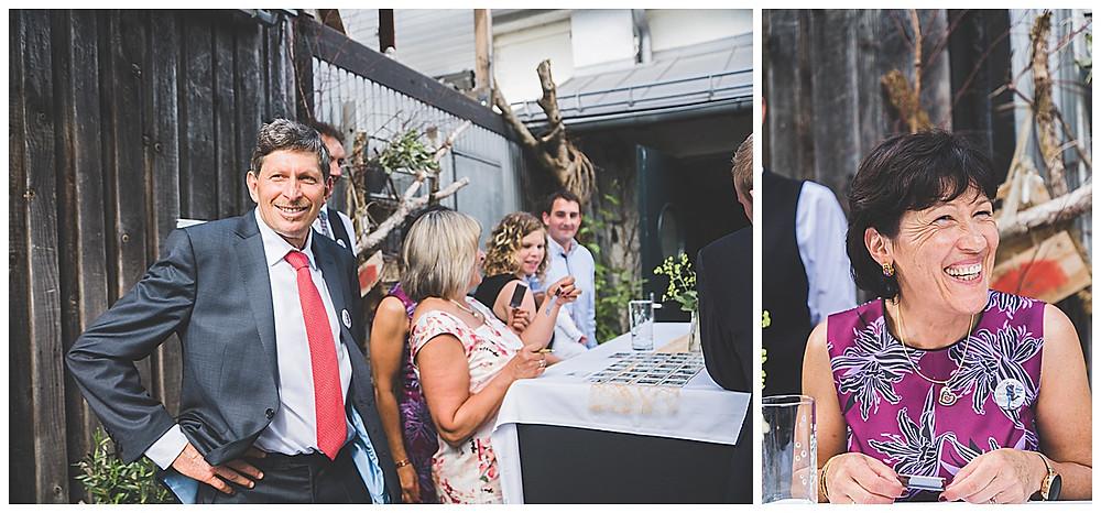 Gäste bei der Hochzeit im Kraftwerk Allgäu Peiting