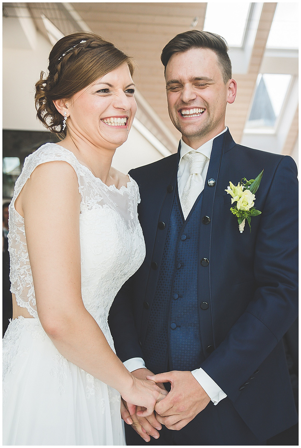 Brautpaar Ja Wort Peiting Standesamt