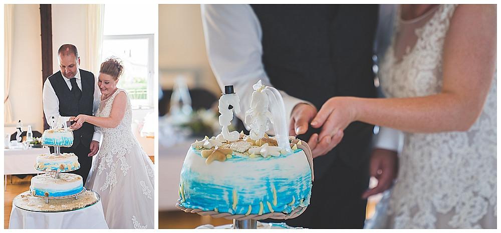 Hochzeitstorte anschnitt heiraten in Langenau