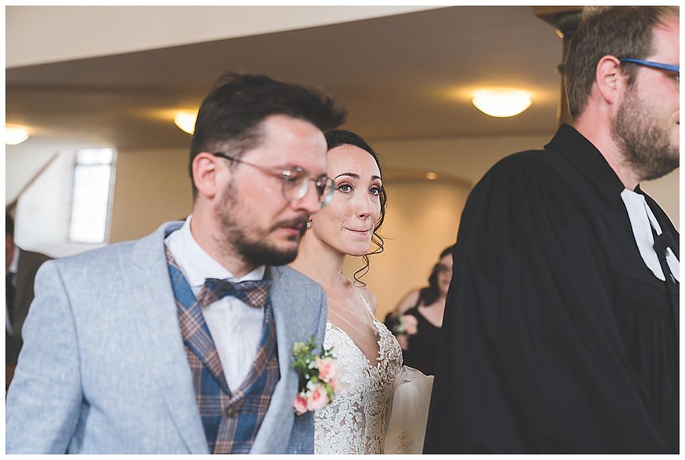 Kirchliche Hochzeit Einzug in Kirche