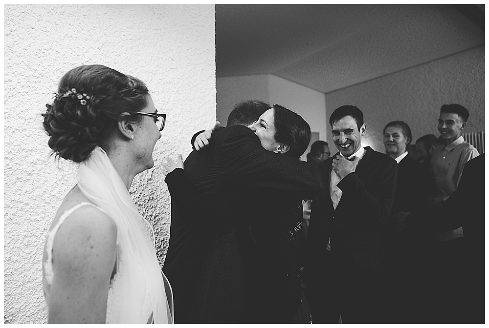 Gratulation an Hochzeit