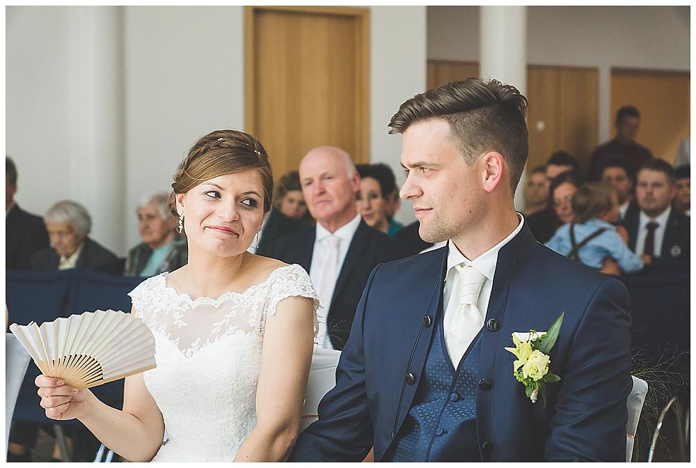 Brautpaar im Standesamt Peiting