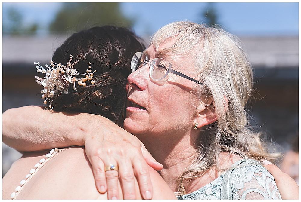 Gratulation von Brautmutter zur Tochter
