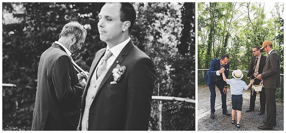 kirchliche Trauung Hürden Brautvater und Bräutigam