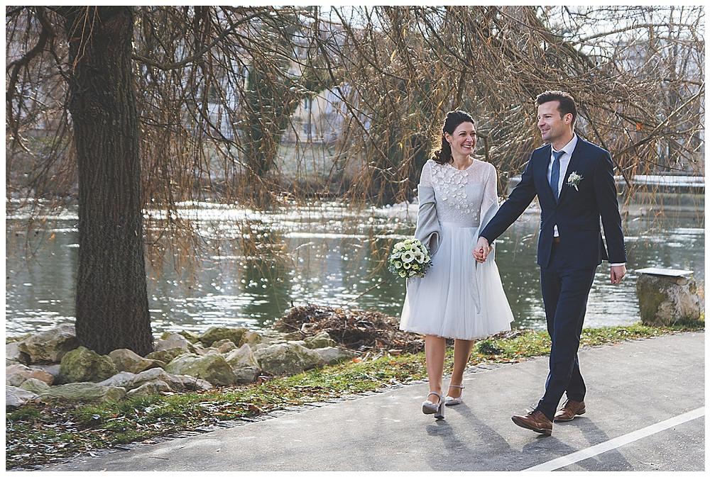 Brautpaarshooting Ulm Donauufer