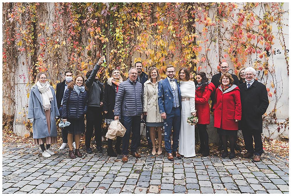 gruppenfamilienbild Hochzeit